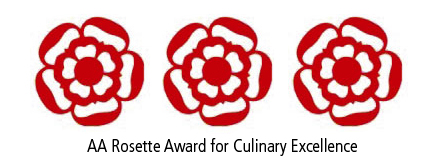 Three AA Rosette Award 2017-2018